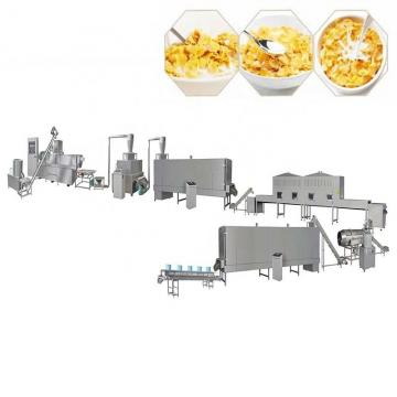 Corn Flakes Breakfast Cereals Manufacturing Processing Line Making Machine