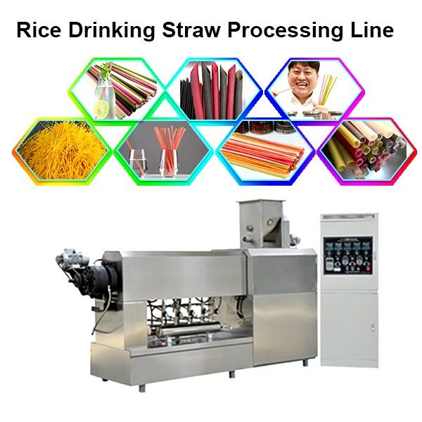 Eco Friendly Gadgets Custom Drinking Straw Making Extruder Line #1 image