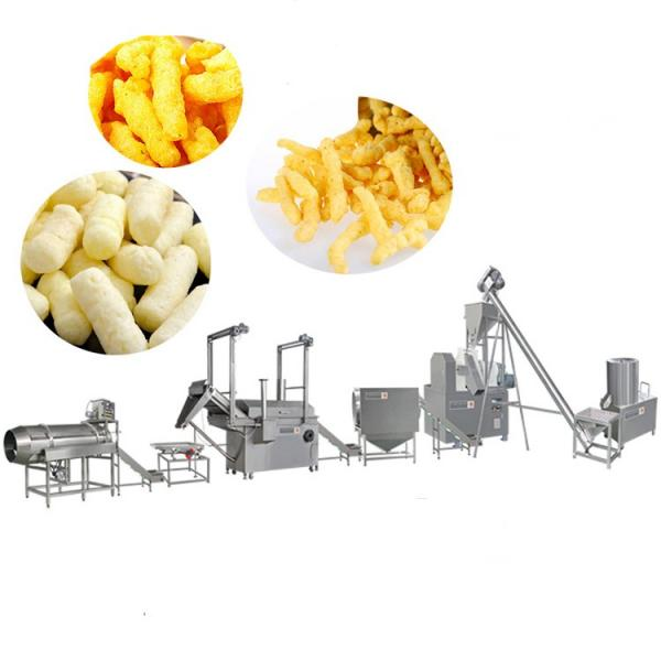 Kurkure Nik Naks Making Machine Plant Jinan Reno Extrusion Machinery #1 image