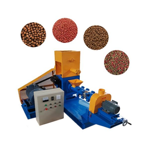 High Quality Fish Feed Pellet Extruder Making Machinery #1 image