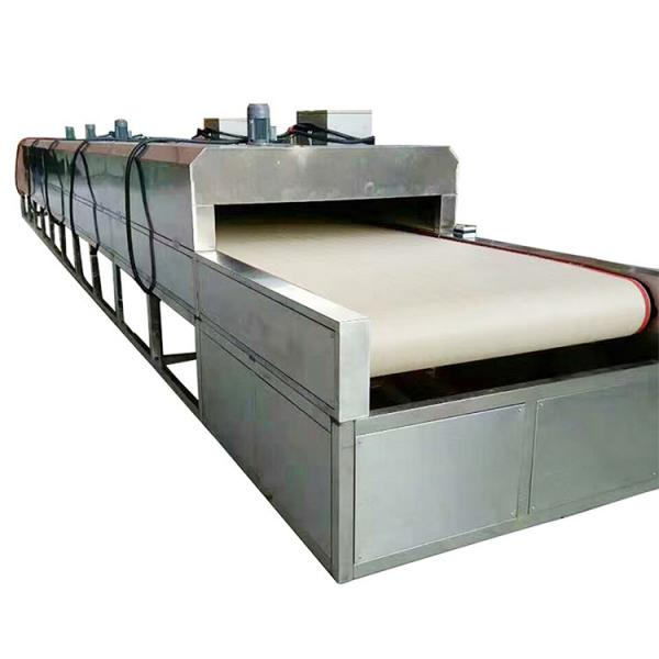 Large Industrial Stainless Steel Continuous Microwave Food Belt Conveyor Dryer #2 image