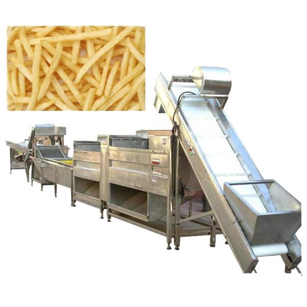 Semi-Auto Potato Chips French Fries Potato Chips Snack Making Machine #1 image