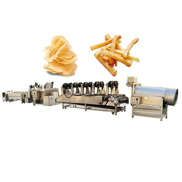 Semi-Auto Potato Chips French Fries Potato Chips Snack Making Machine #3 image