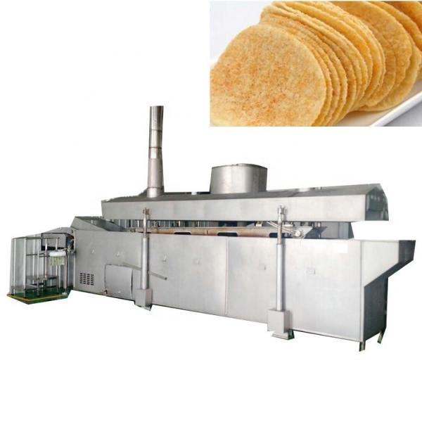 Semi-Auto Potato Chips French Fries Potato Chips Snack Making Machine #2 image