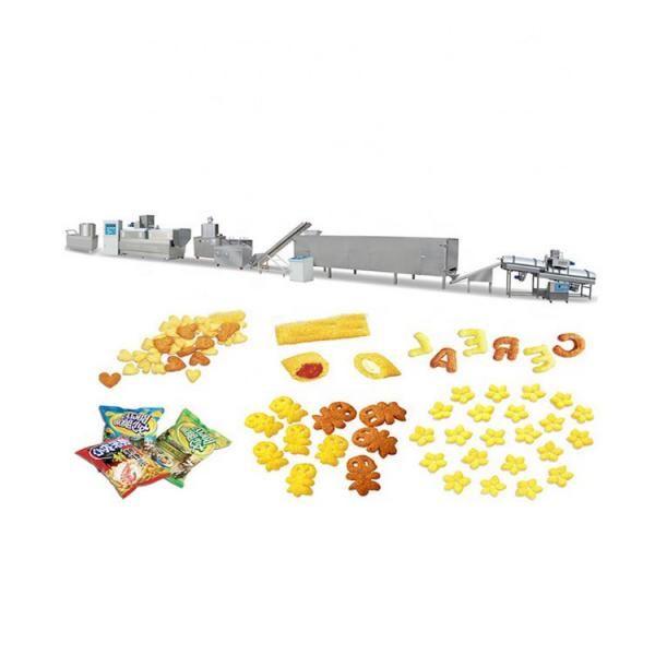 Automatic Cheetos Kurkures Puffed Snack Food Production Line #1 image