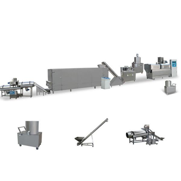 Full Automatic Twin Screw Extrusion Technology Fried Corn Pellet Tortilla Chips Snacks Food Extruder Machine Production Line #2 image